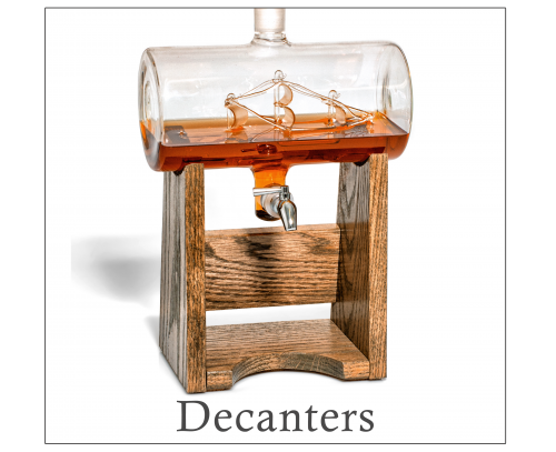 Shop Whiskey Decanters