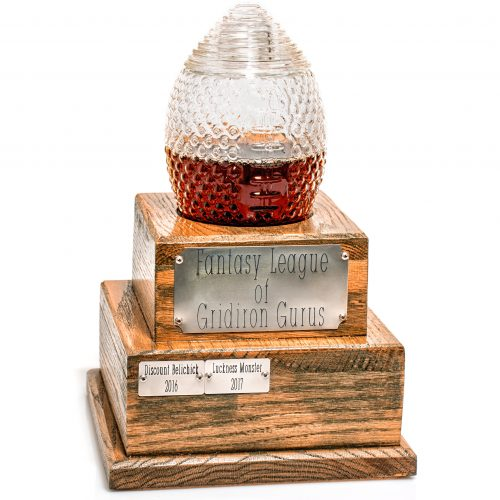 Perpetual Fantasy Football Decanter